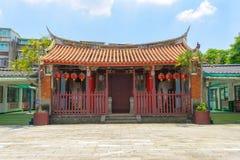 Konfucius tempel i den nya Taipei staden Royaltyfri Fotografi