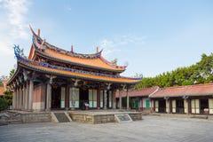 Konfucius tempel i Taipei Royaltyfri Bild