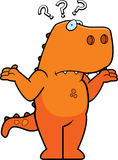 Konfuser Dinosaurier Lizenzfreies Stockfoto