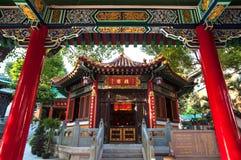 Konfuzianische Halle bei Wong Tai Sin Temple, Hong Kong Lizenzfreie Stockfotos