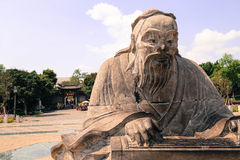 Konfuzius-Statue Lizenzfreie Stockbilder