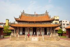 Konfuzius-Tempel in Changhua, Taiwan Stockbild