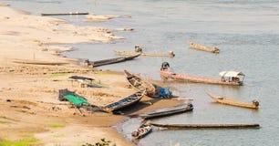 kong河码头  库存照片