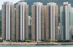 kong снабжения жилищем hong Стоковая Фотография