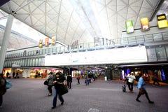 kong för flygplatshong international Arkivbilder