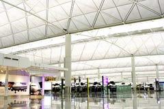 kong för flygplatshong international Royaltyfri Bild
