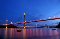 kong kau hong моста ting Стоковая Фотография