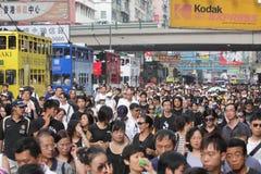 kong manila заложника hong смертей над протестом Стоковое Фото