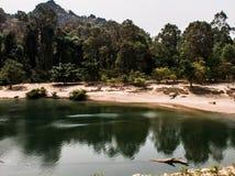Konglor, Laos royalty free stock photography