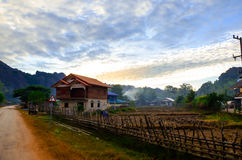 Konglor Natuurlijk gebied in Khammoun Laos Stock Foto