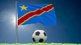 Kongo DR futbolu i trzepota? chor?gwiane rolki