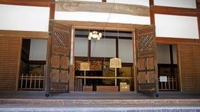 Kongobuji寺庙在Koyasan,日本 免版税库存照片