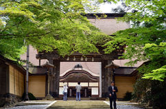 Kongobuji temple entrance Stock Photography
