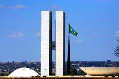 Kongres Narodowy Brazil Brasilia fotografia royalty free
