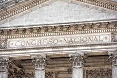 Kongres Narodowy w buenos aires zdjęcie stock