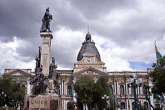 Kongres w losie angeles Paz, Boliwia zdjęcia royalty free