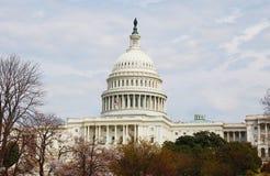 Kongresowy capitol Obrazy Royalty Free