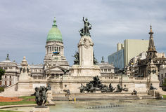 Kongresowy Plac Buenos Aires Obrazy Stock