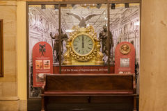 Kongress-Bibliotheks-Decke Washington Stockbild