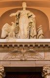 Kongress-Bibliotheks-Statuen-Gerechtigkeit Washington Lizenzfreie Stockfotografie
