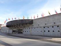Kongress. Famous Davos Kongress Centre, Switzerland Royalty Free Stock Photography