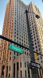 Kongress-Straße Detroit Michigan stockfotografie