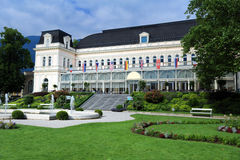 The Kongress & TheaterHaus, Bad Ischl, Austria Royalty Free Stock Images