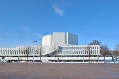 kongressfinlandiakorridor helsinki Royaltyfria Foton
