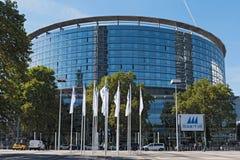 Kongresu centrum messe targ handlowy Frankfurt magistrala, niemiec - Am - obraz royalty free