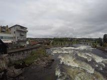 Kongsberg i Norge fotografering för bildbyråer