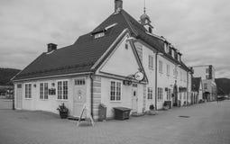 Kongsberg Station B&W Stock Images