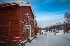 Kongsvold Fjeldstue, Dovre Fjell, Norvegia Fotografie Stock Libere da Diritti