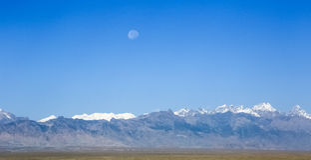 Kongur mountain peak Stock Image