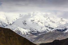 Kongur mountain peak Royalty Free Stock Photos