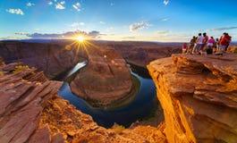 Konia buta chył, Kolorado rzeka w stronie, Arizona usa Zdjęcie Royalty Free