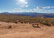 Konia buta chył, Kolorado rzeka w stronie, Arizona usa Obraz Stock