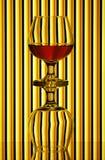 koniaków szkła dwa Zdjęcia Royalty Free