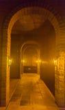 koniak bocznej piwnicy oak wino tam Zdjęcie Stock
