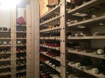 koniak bocznej piwnicy oak wino tam Obrazy Royalty Free