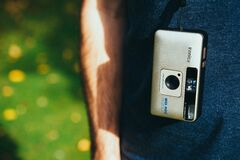 Konica camera  Stock Photo