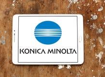 Konica Minolta technologii firmy logo obrazy stock