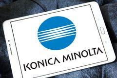Konica Minolta technologii firmy logo zdjęcie royalty free