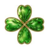 koniczyna klejnoty bijou Wektoru St Patrick ` s dzień royalty ilustracja