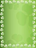 Koniczynowy liścia tło Obrazy Stock