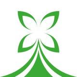 Koniczynowy logo Zdjęcia Stock