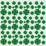 koniczyny st Patrick dnia bezszwowy wzór Obraz Royalty Free