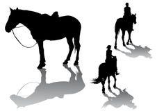 konie royalty ilustracja