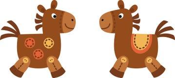 konie dwa Obraz Royalty Free