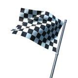 koniec flaga Zdjęcia Stock