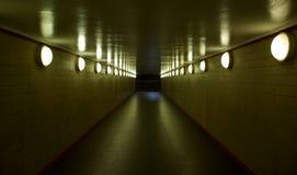 koniec tunelu Obrazy Stock